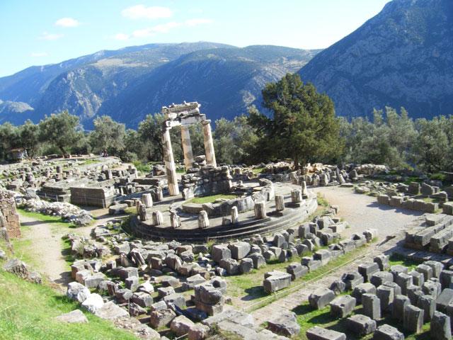ガイア神殿跡
