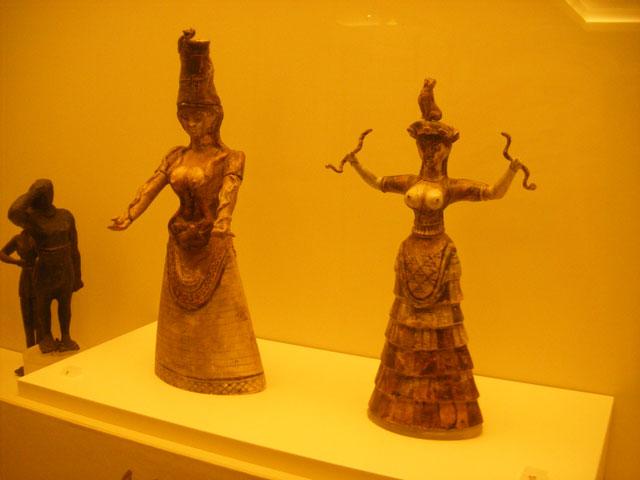 クレタ島の女神様